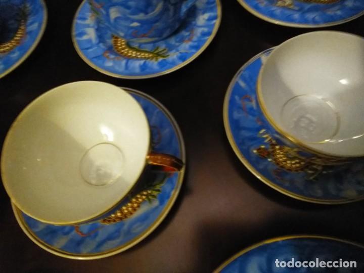 Vintage: ANTIGUO JUEGO DE TE / CAFE JAPONES [ 16 PIEZAS INTACTAS ] - Foto 15 - 215303008