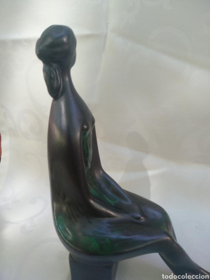 Vintage: Figura Mujer Sentada abstracta - Foto 11 - 215791783