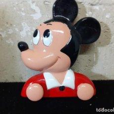 Vintage: COLGADOR INFANTIL MICKEY MOUSE CERAMICA. Lote 215839662