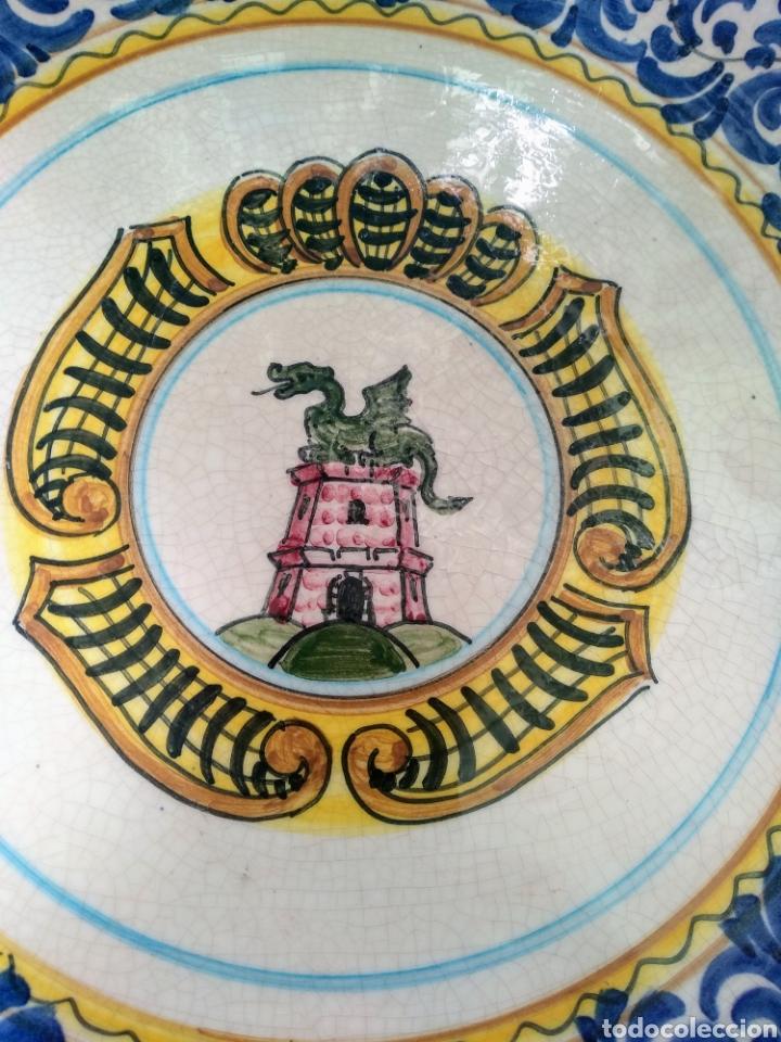 Vintage: Gran plato decorativo. SVIT - Foto 2 - 215973150