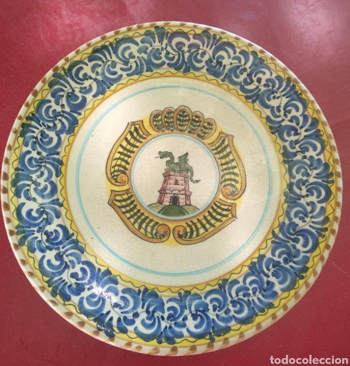 GRAN PLATO DECORATIVO. SVIT (Vintage - Decoración - Porcelanas y Cerámicas)