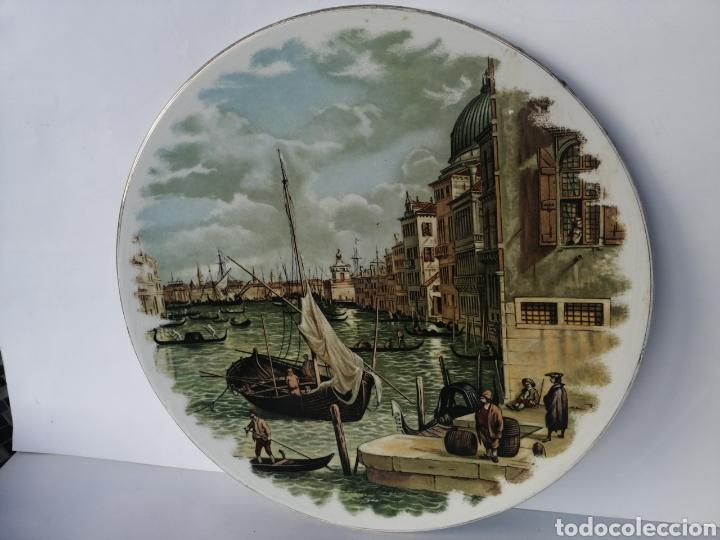 PLATO DECORATIVO (Vintage - Decoración - Porcelanas y Cerámicas)