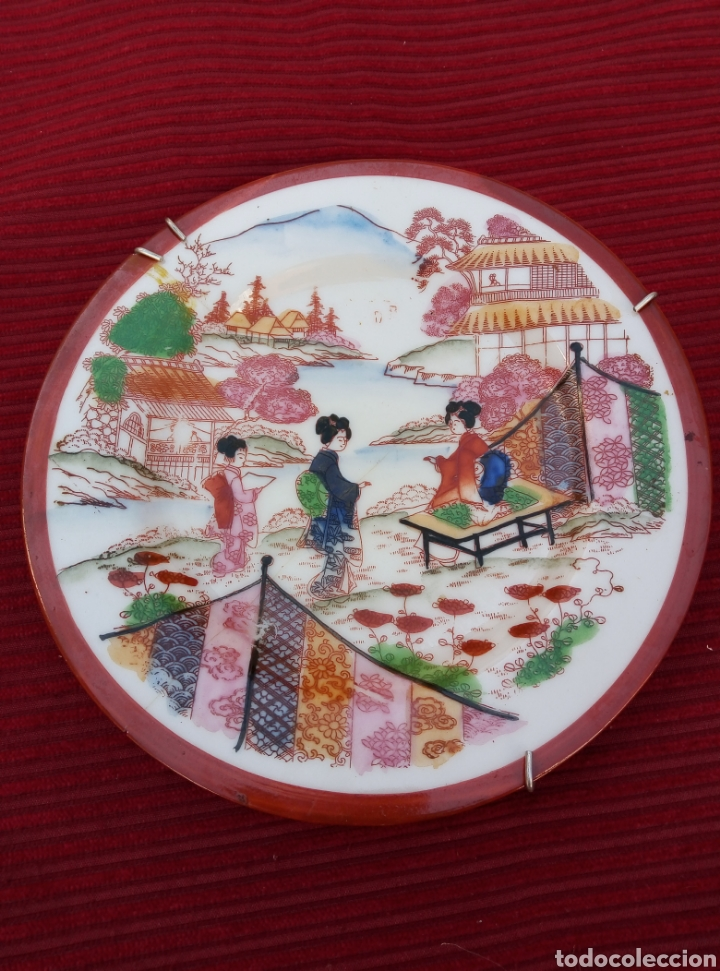 Vintage: Bonito plato oriental. - Foto 3 - 216576060