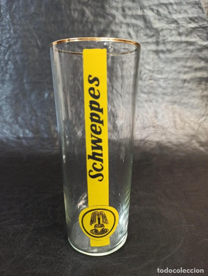 Vintage: 4 vasos de Schweppes. C25 - Foto 2 - 217212273