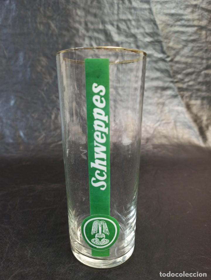 Vintage: 4 vasos de Schweppes. C25 - Foto 3 - 217212273