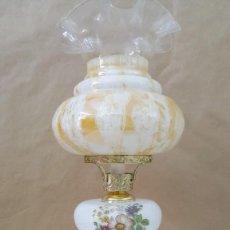 Vintage: LAMPARA MEAL Y VIDRIO. Lote 217489476