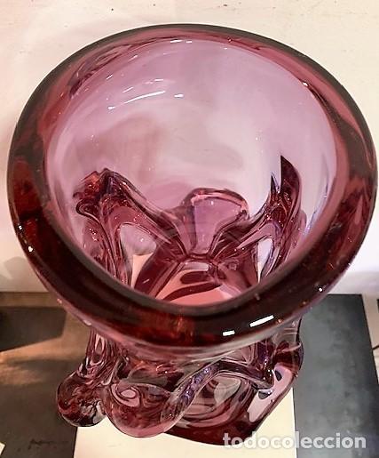 Vintage: Jarrón de cristal. - Foto 7 - 218442615