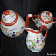 Vintage: JUEGO DE TE CHINO. Lote 218574480