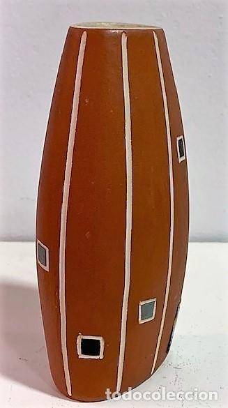 Vintage: Jarrón de cerámica de los años 50 procedencia alemana. 12 cm H. - Foto 2 - 218826083