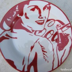 Vintage: PLATO PORCELANA COCA-COLA. Lote 221479393