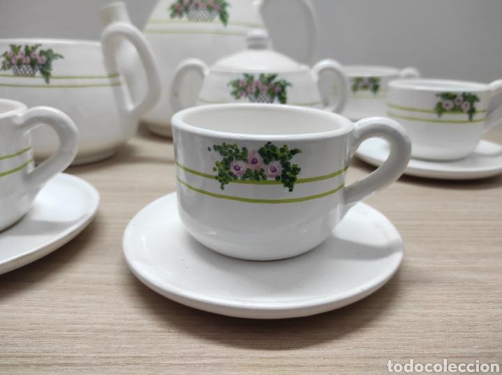 Vintage: Juego de café de cerámica sin uso procedente de stock de tienda - Foto 2 - 221538340