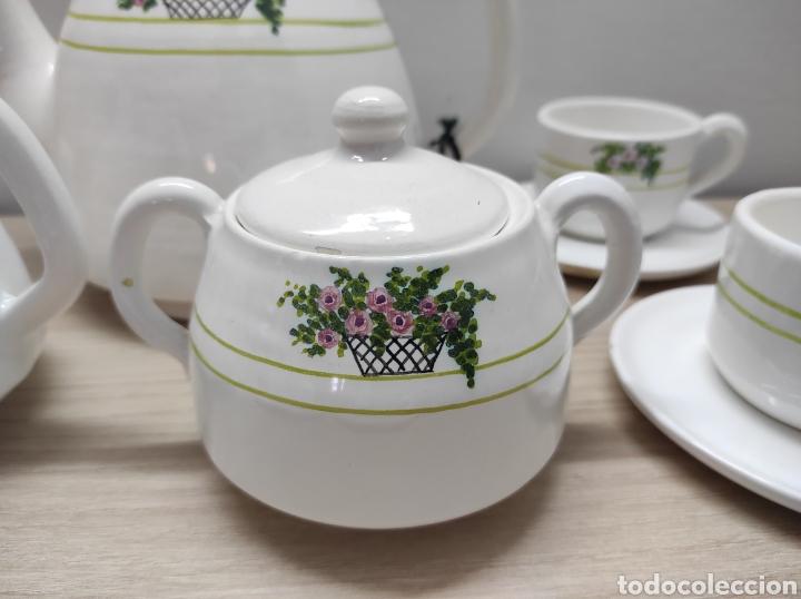 Vintage: Juego de café de cerámica sin uso procedente de stock de tienda - Foto 3 - 221538340