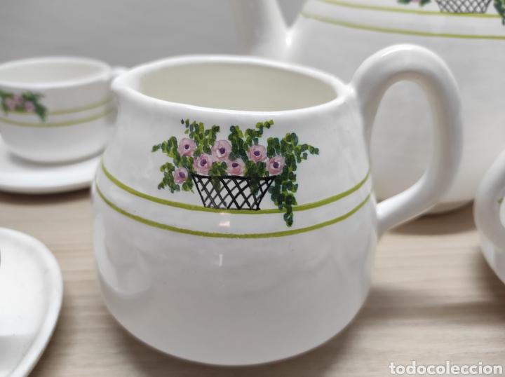 Vintage: Juego de café de cerámica sin uso procedente de stock de tienda - Foto 4 - 221538340