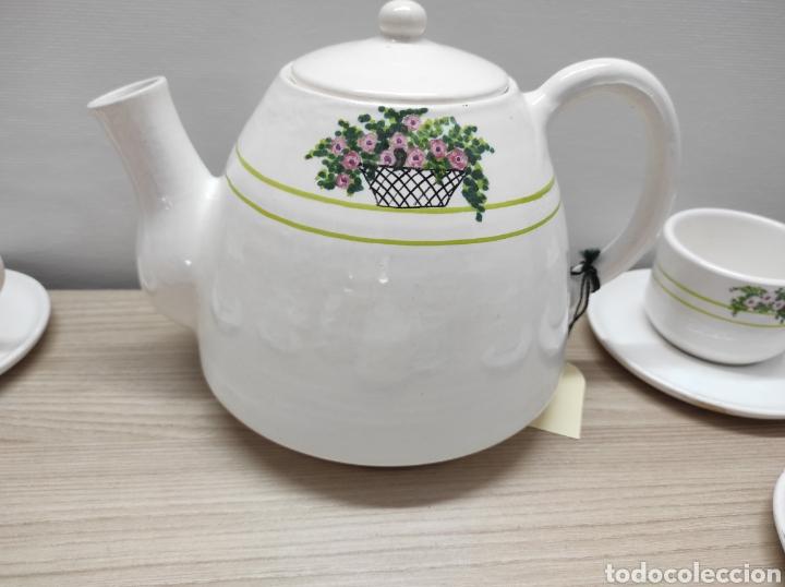Vintage: Juego de café de cerámica sin uso procedente de stock de tienda - Foto 5 - 221538340