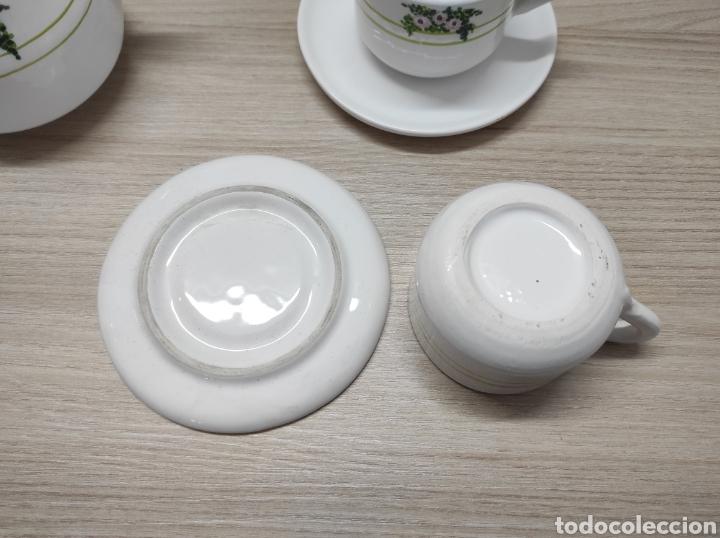 Vintage: Juego de café de cerámica sin uso procedente de stock de tienda - Foto 6 - 221538340