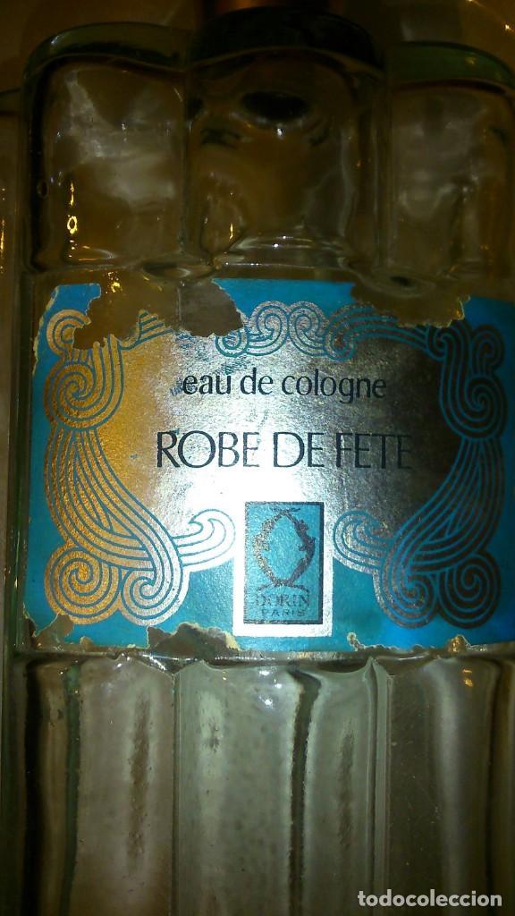 Vintage: BOTELLA CRISTAL PERFUME EAU DE COLOGNE ROBE DE FETE DORIM PARIS. - Foto 2 - 221935833