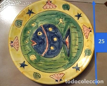 PLATO DE CERÁMICA (Vintage - Decoración - Porcelanas y Cerámicas)