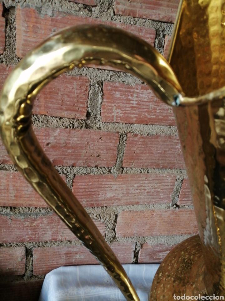 Vintage: Florero, jarra grande en latón 81cm. - Foto 6 - 222144337