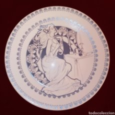 Vintage: PLATO PONTESA - ROYAL CHINA - VINTAGE - BICOLOR - AÑOS 80. Lote 222154730