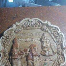 Vintage: PLATO DE CERÁMICA DEL CASTILLO DE TRANSILVANIA ROMANIA. Lote 222468905
