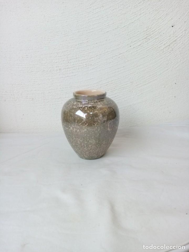 Vintage: Bonito jarrón de porcelana vidriado. - Foto 2 - 223591551