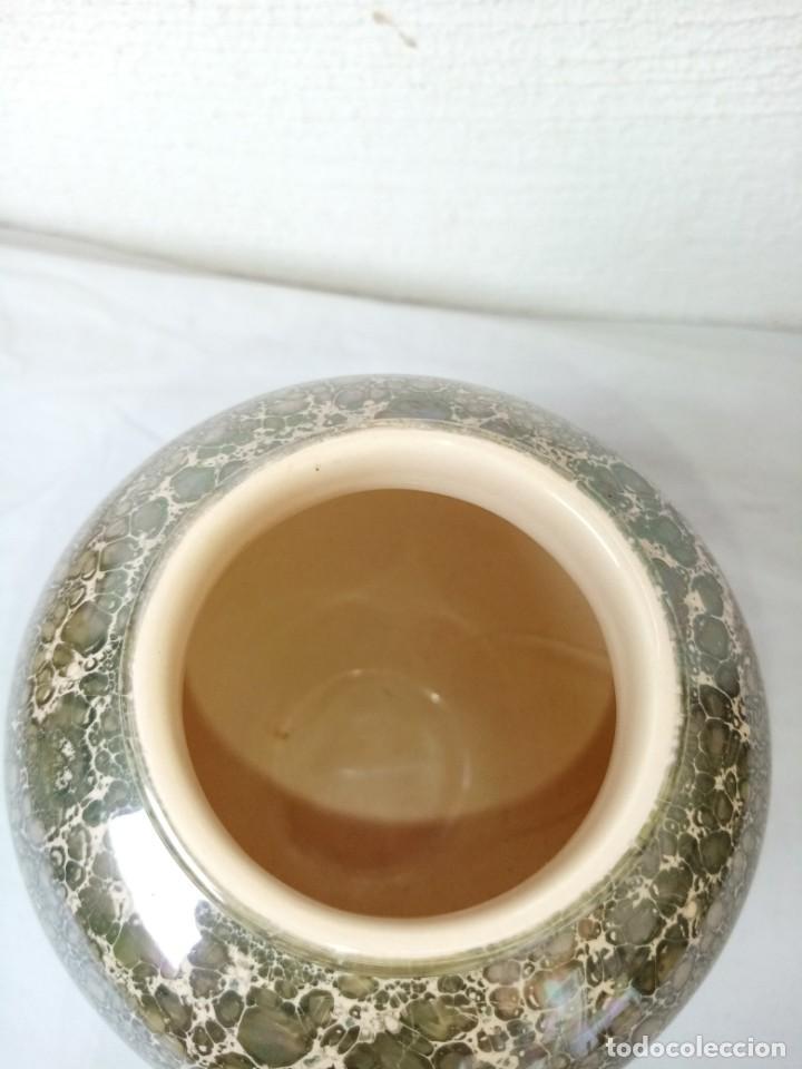 Vintage: Bonito jarrón de porcelana vidriado. - Foto 3 - 223591551