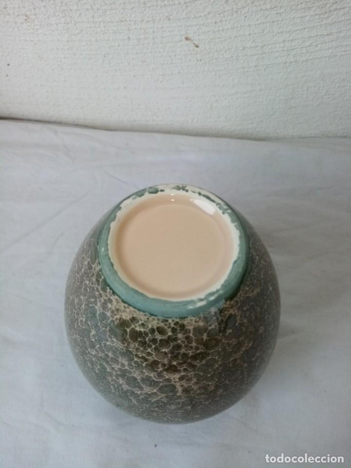 Vintage: Bonito jarrón de porcelana vidriado. - Foto 5 - 223591551