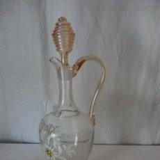 Vintage: BOTELLA CRISTAL. Lote 224116820