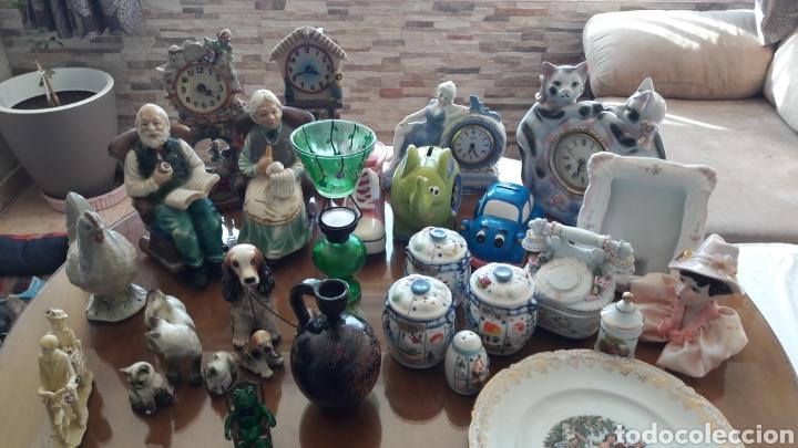LOTE (Vintage - Decoración - Porcelanas y Cerámicas)