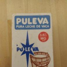 Vintage: HUCHA PULEVA - PUBLICIDAD AÑOS 80 CERÁMICA. Lote 228815680