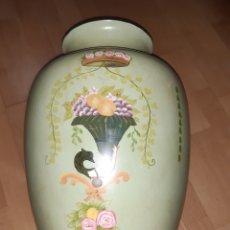 Vintage: GRAN JARRON ANTIGUO DE CERAMICA ORIENTAL. VER DESCRIPCIÓN. Lote 228977770