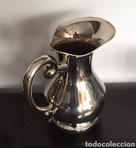 Vintage: Clásica jarra de alpaca - Foto 4 - 229818015