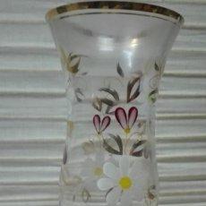 Vintage: JARRON DE CRISTAL AÑOS 60. Lote 230090740