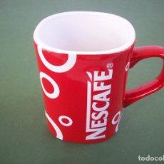 Vintage: TAZA ROJA DE NESCAFE .. Lote 230321235