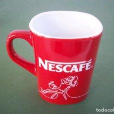 Vintage: TAZA ROJA DE NESCAFE .. Lote 230321360