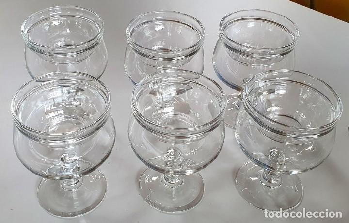 juego de 6 copas de coctel de marisco - Comprar Cristal y vidrio vintage en todocoleccion - 231265225
