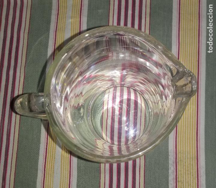 Vintage: JARRA DE CRISTAL CON CENEFA - 20 x 10 CMS APROX - Foto 3 - 234466095
