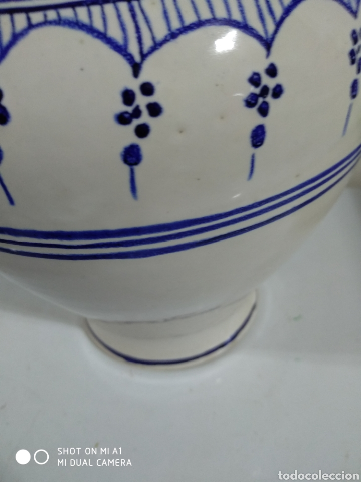 Vintage: Tibor porcelana similar tournai 20x23 alto - Foto 2 - 234551850