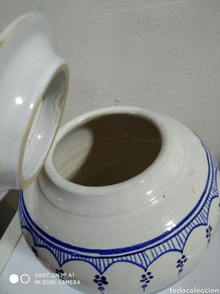 Vintage: Tibor porcelana similar tournai 20x23 alto - Foto 3 - 234551850