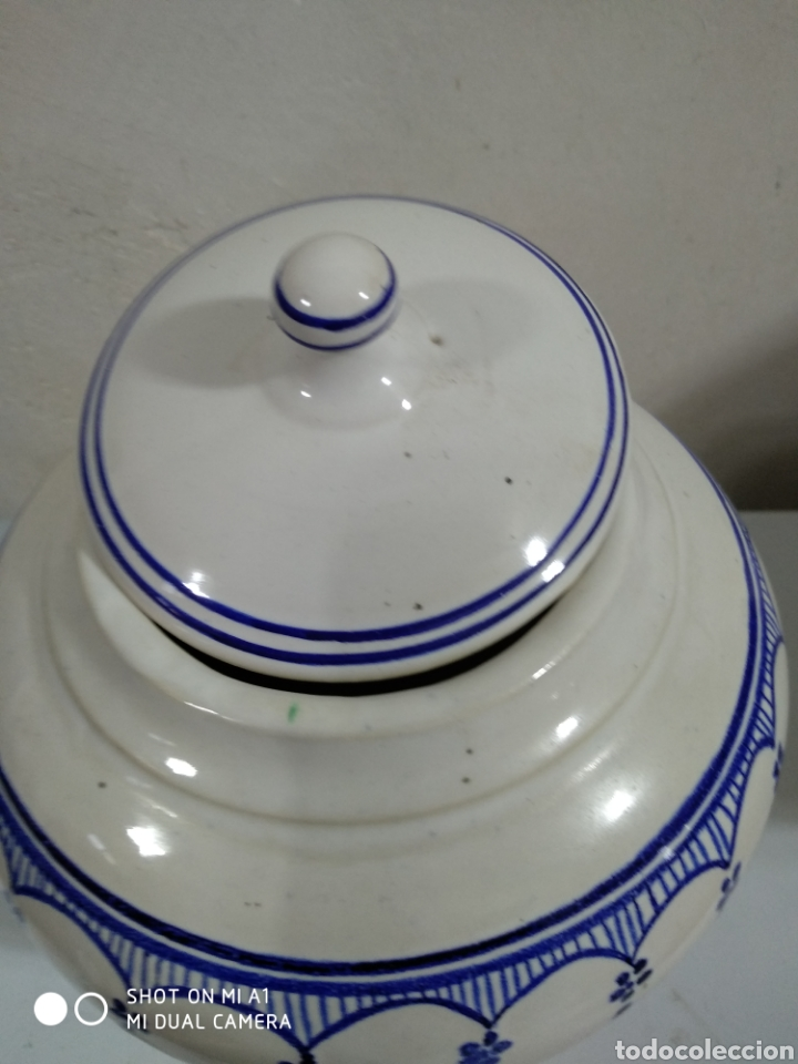 Vintage: Tibor porcelana similar tournai 20x23 alto - Foto 7 - 234551850