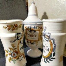Vintage: ALBARELOS CERAMICA BAÑOLES. Lote 234707605