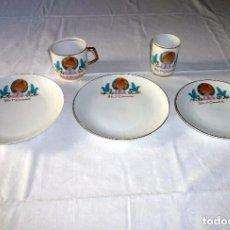 Vintage: JUEGO DE PORCELANA 1ª COMUNION.. Lote 234764420