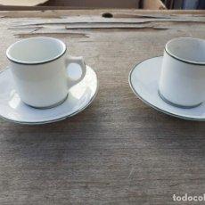 Vintage: 2 TAZAS DE PORCELANA VISTAALEGRE. Lote 234838920