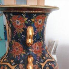 Vintage: EXQUISITO JARRÓN CHINO EN PORCELANA CON MUCHAS FILIGRANAS. Lote 235457425