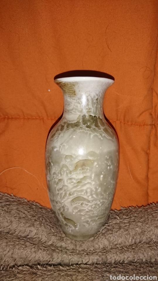 Vintage: Precioso jarrón de porcelana color tonos grises, medida 14 cm - Foto 2 - 235549560