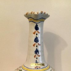 Vintage: JARRON DE CERAMICA DE TALAVERA DE LA REINA, TOLEDO. Lote 235707335