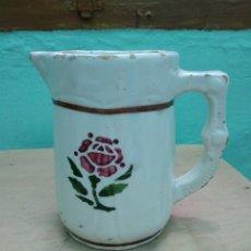 Vintage: ANTIGUA JARRA DE PORCELANA DECORADA. Lote 237251040