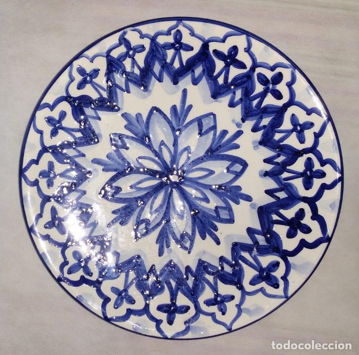 "Vintage: Precioso lote de 3 platos de porcelana / cerámica andaluces ""Mezquita"" - Envío gratis Península - Foto 2 - 237367365"