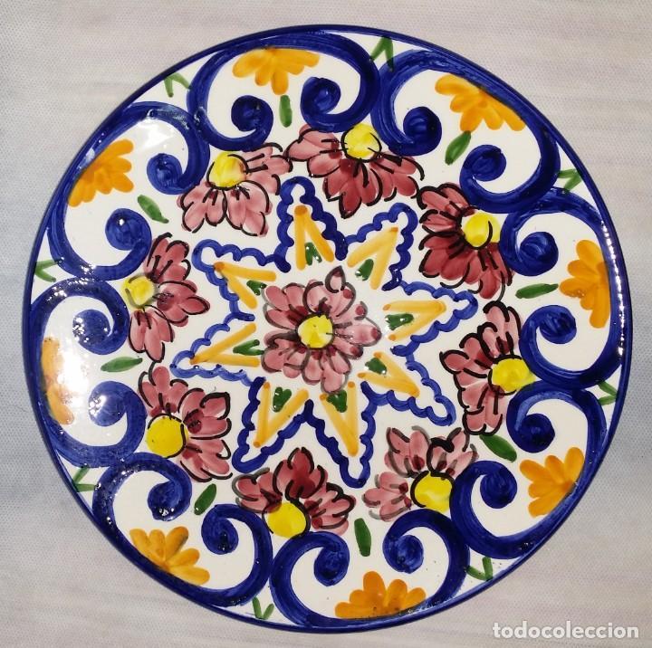 "Vintage: Precioso lote de 3 platos de porcelana / cerámica andaluces ""Mezquita"" - Envío gratis Península - Foto 3 - 237367365"