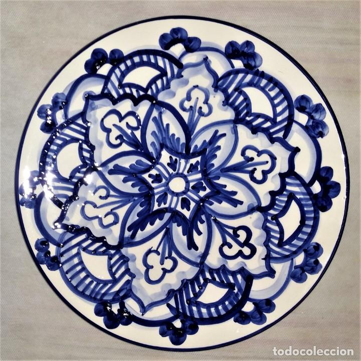 "Vintage: Precioso lote de 3 platos de porcelana / cerámica andaluces ""Mezquita"" - Envío gratis Península - Foto 4 - 237367365"